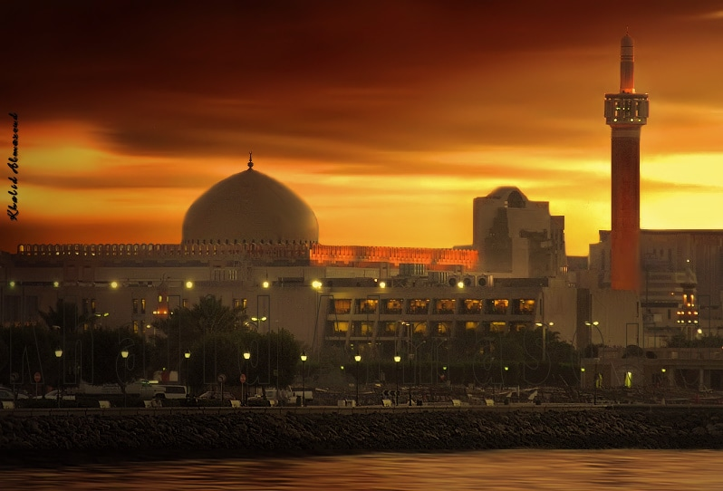 The Grand Mosque in Kuwait City