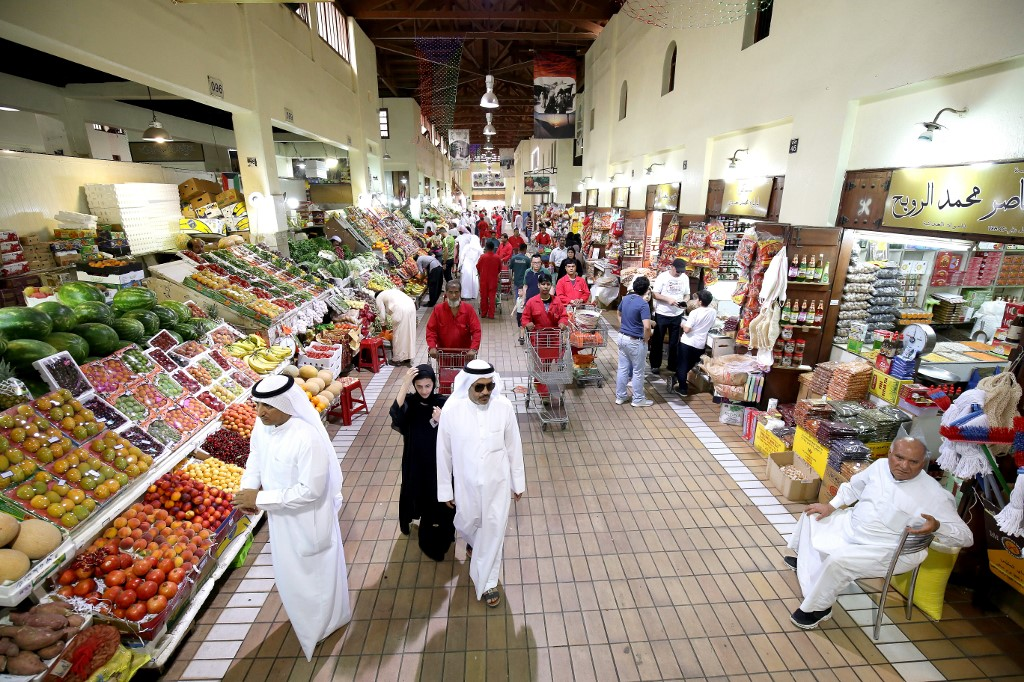 Kuwait City souk