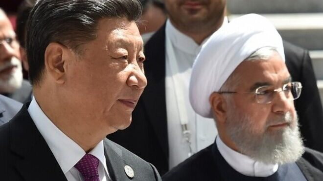 China could signal increased engagement with Iran but doesn't