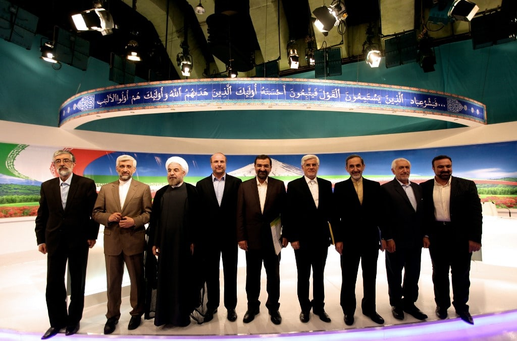 Candidates of the 2013 Presidential elections Iran