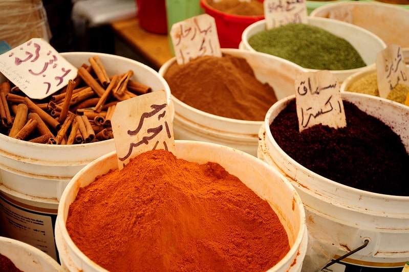 A market in Lebanon.