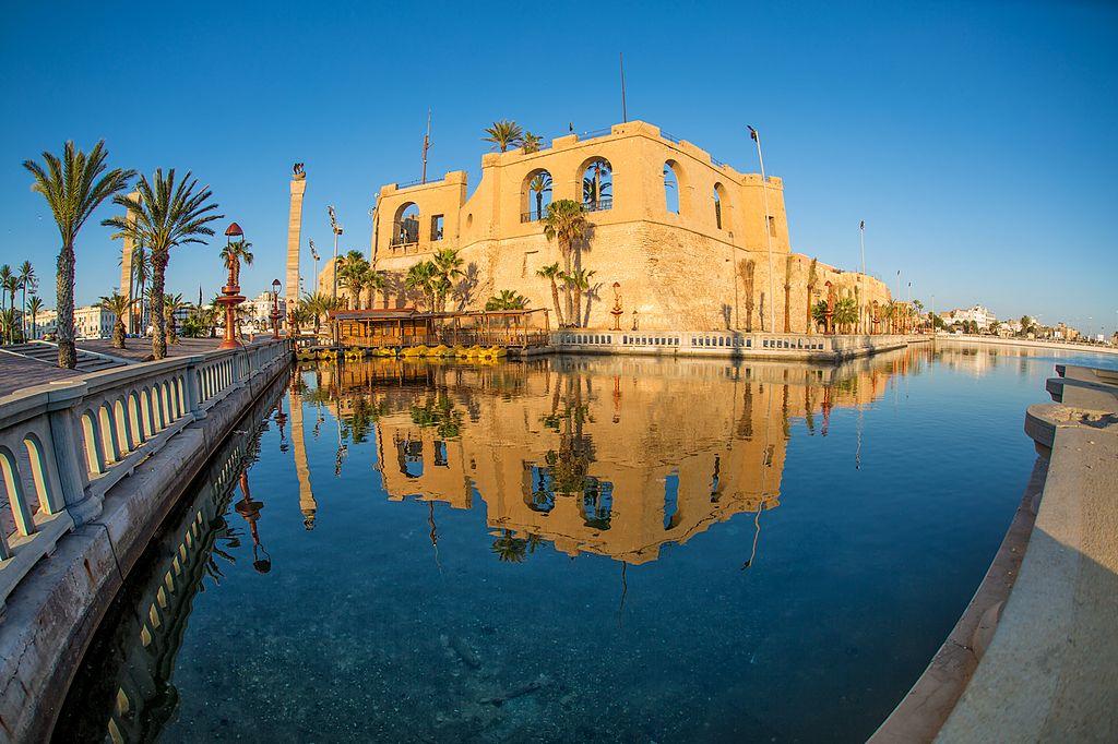القلعة الحمراء في طرابلس