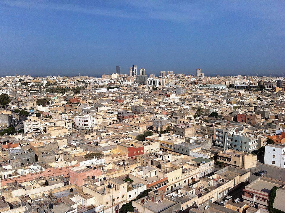 طرابلس السكان في ليبيا