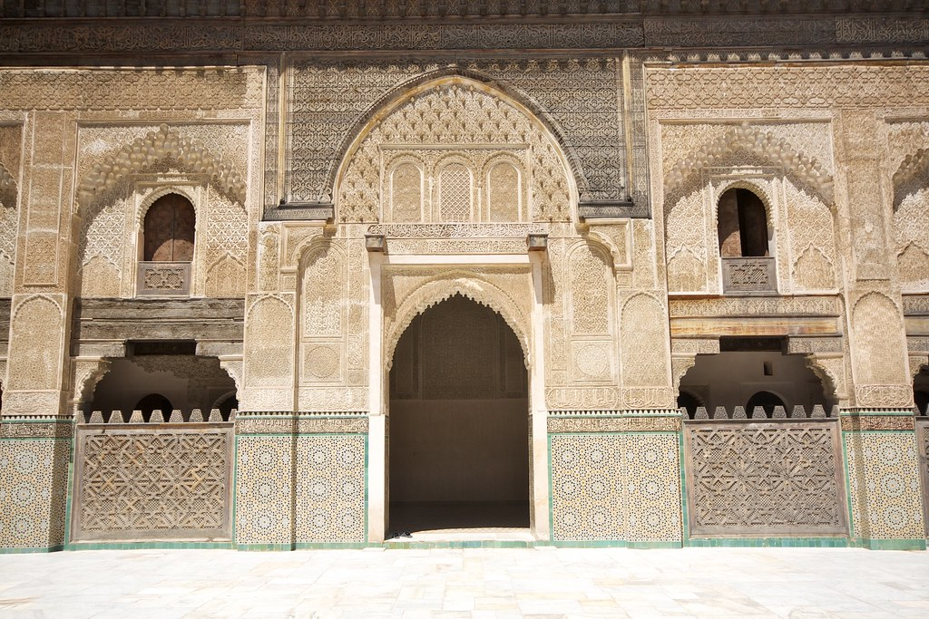 Culture of Morocco: Bou Anania Madrasa in Meknes