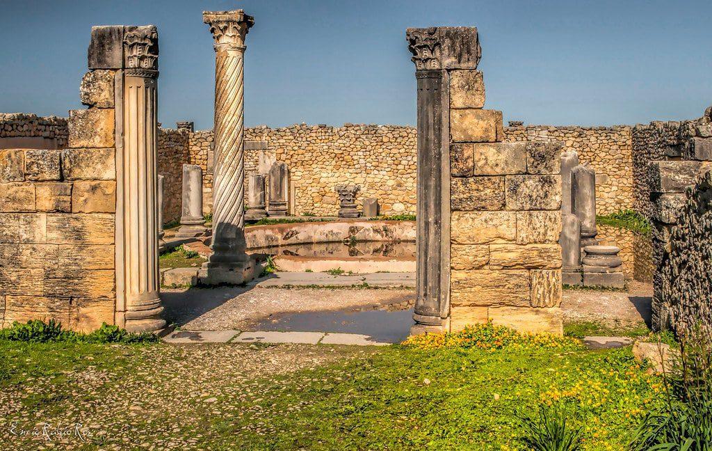 Volubilis, Roman city Morocco history
