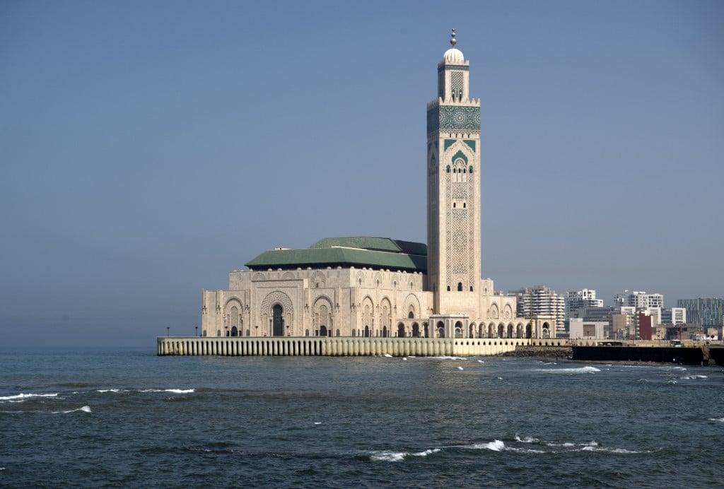 مسجد الحسن الثاني في مدينة الدار البيضاء
