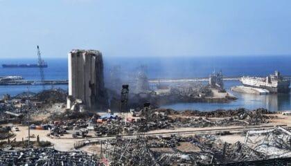 إعادة إعمار ميناء بيروت: منافسةٌ على نفوذٍ جيوسياسي