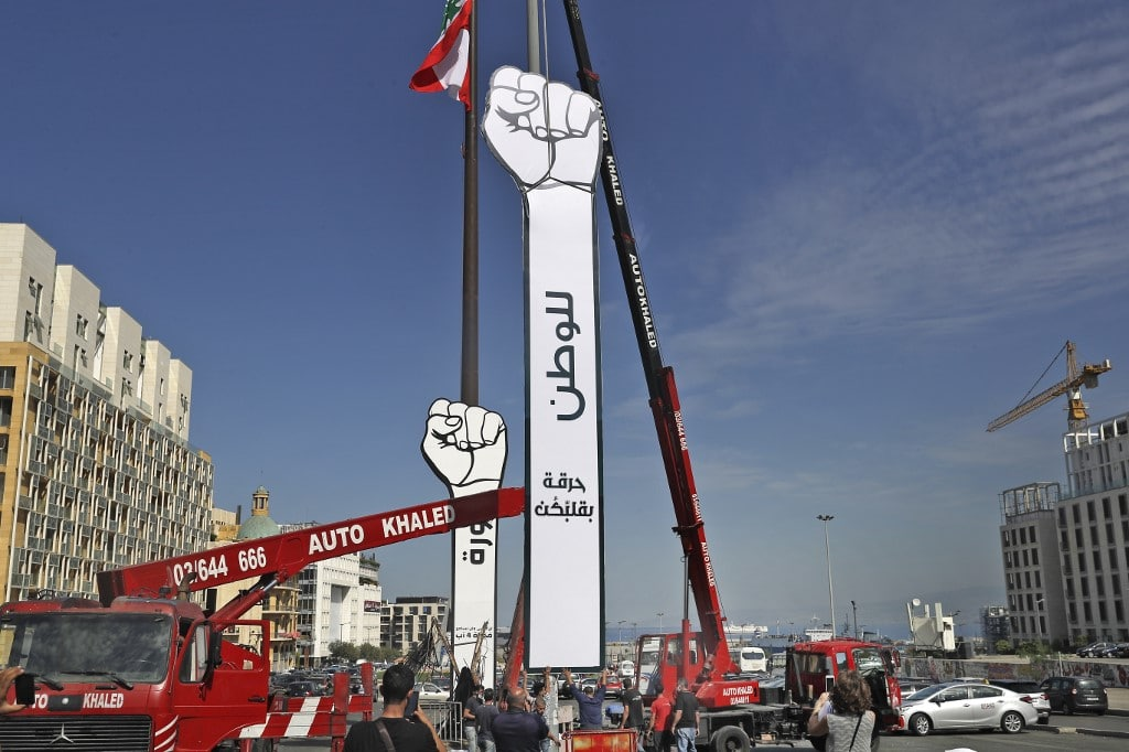 uprising lebanon