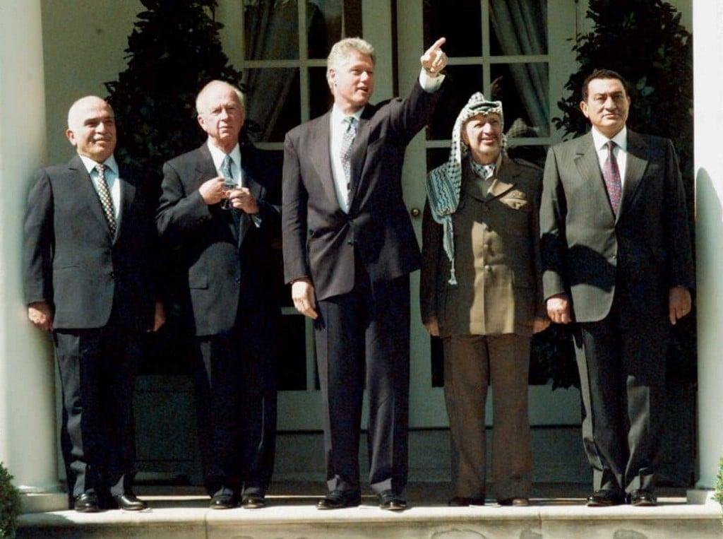 Arafat clinton