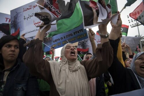 استهداف المدافعات عن حقوق الإنسان في ليبيا