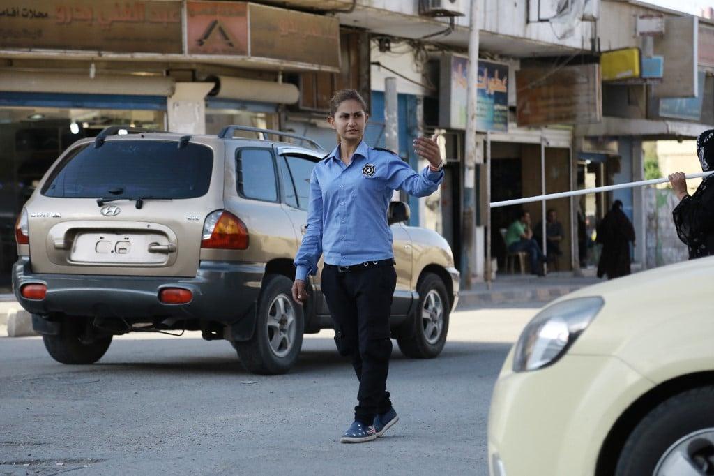 الشرطيات العاملات في محافظة الجزيرة