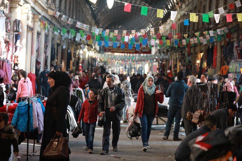 Hamidiya bazaar syria
