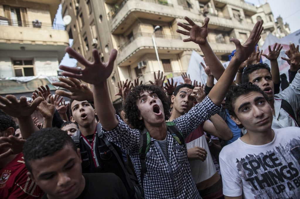The Middle East: Egyptian revolution