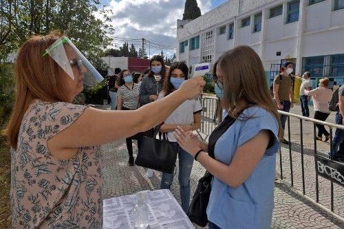 إدارة أزمة فيروس كورونا في تونس