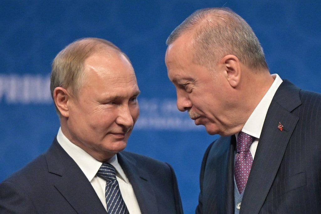 بوتين وإردوغان