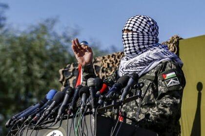 Palestinian militant speech