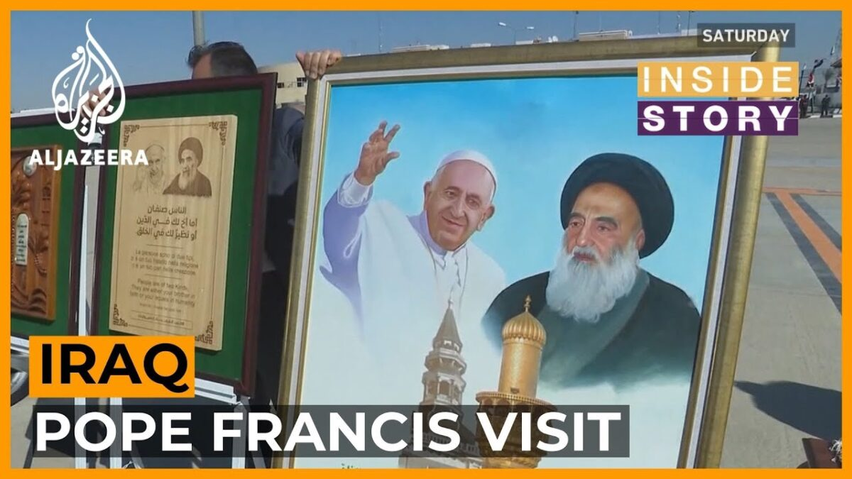 Pope Francis's visit to Iraq