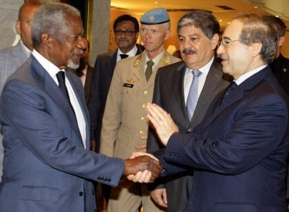 Syria: The Annan Peace Plan in 2012