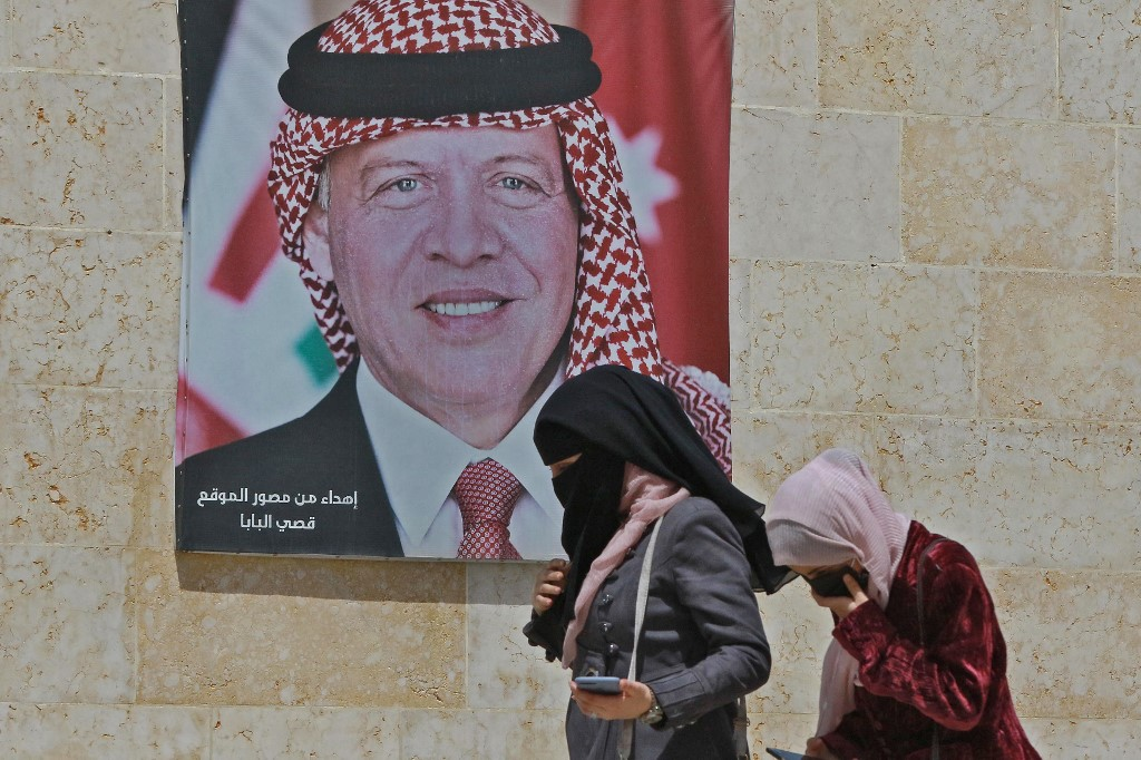 الخصام الملكي الأردني: الملك الأردني عبد الله الثاني