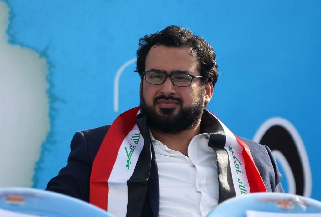 Muntadhar al-Zaidi, an Iraqi journalist famous for throwing a shoe