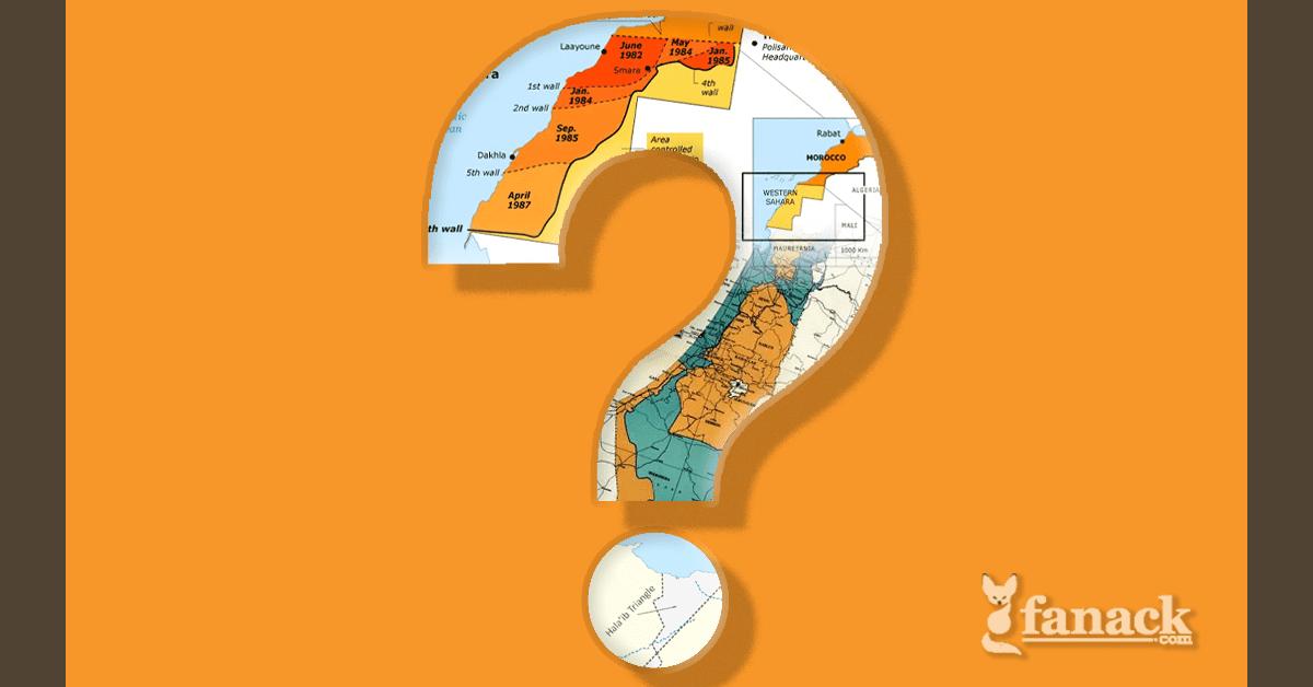 مسابقة حول الحدود المتنازع عليها في الشرق الأوسط وشمال أفريقيا