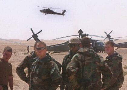 Toppling Saddam's Regime in 2003