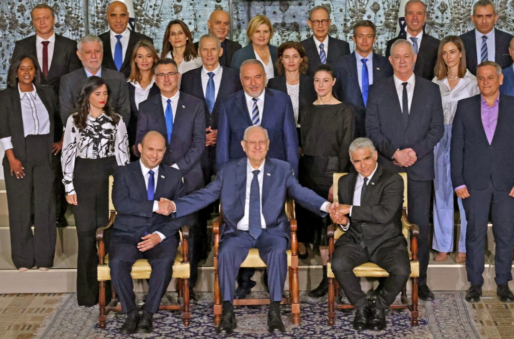 Netanyahu Ousted