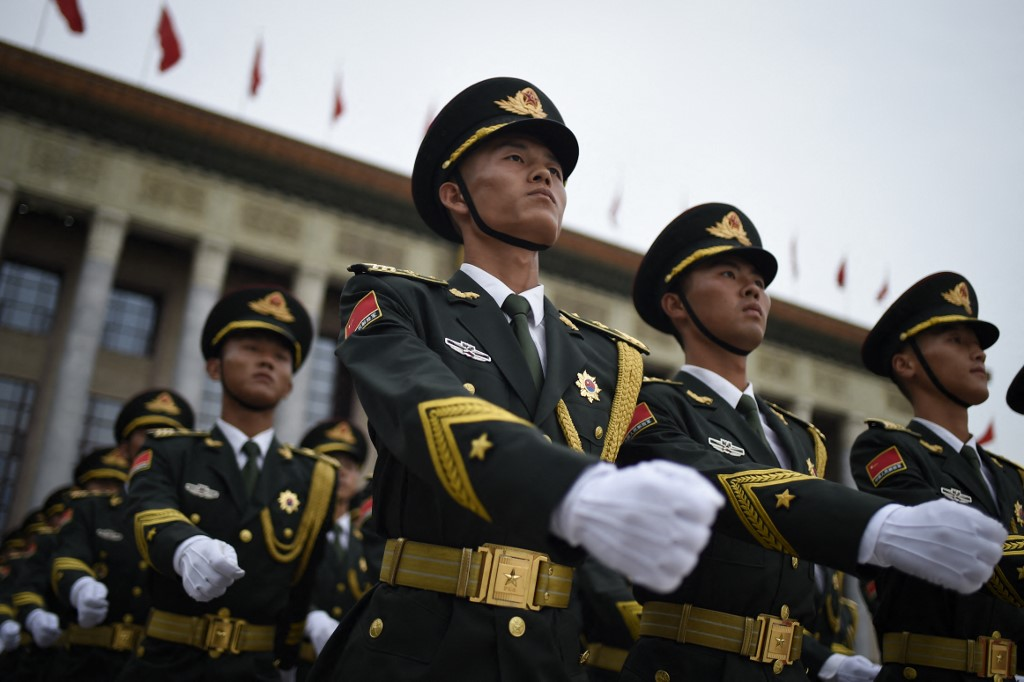 Middle East China military