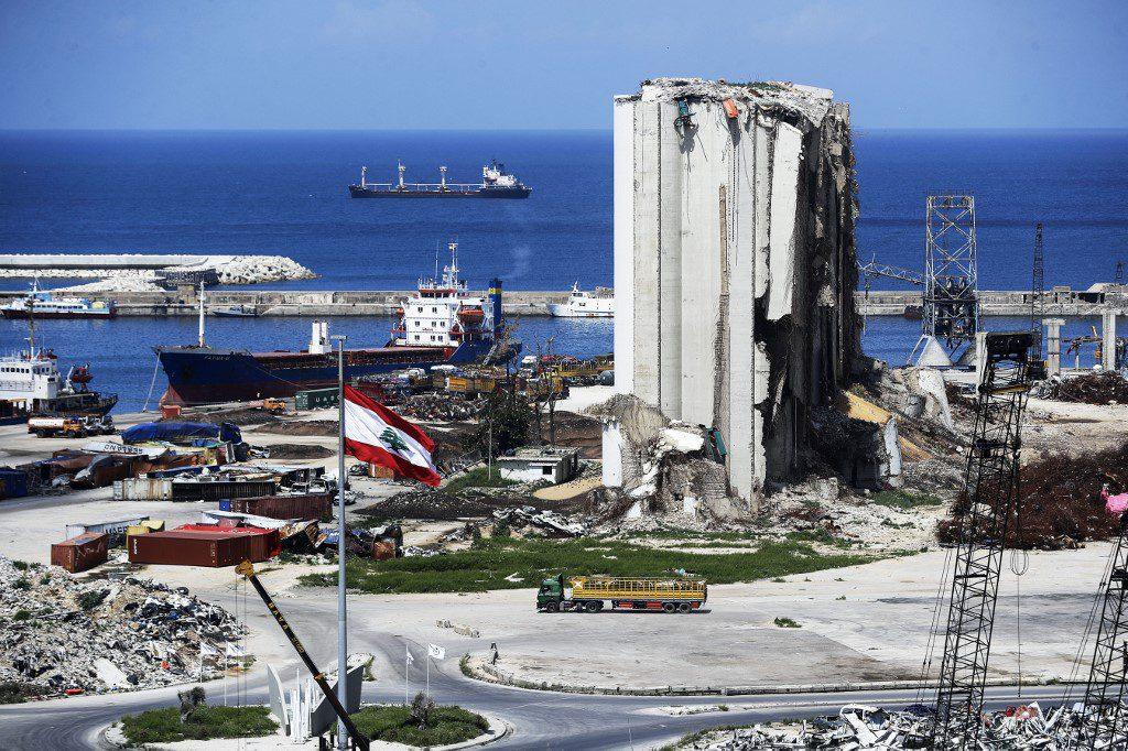 Beirut Port in Collapsing Lebanon