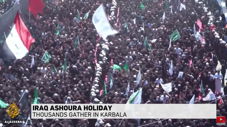 Thousands Mark Ashura Amid Tight Security in Iraq