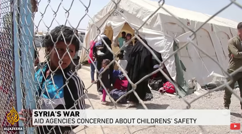 Syria's War: Aid Agencies Concerned about Children's Safety