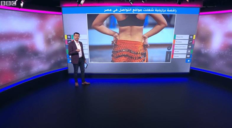 Egypt: A Video of the Brazilian Dancer
