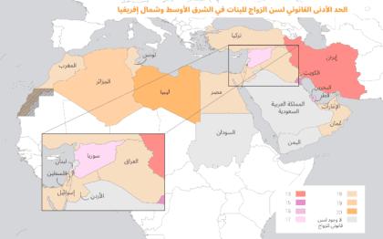 زواج القصّر في الشرق الأوسط وشمال أفريقيا