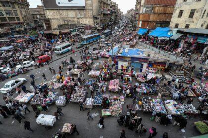 السكان في منطقة الشرق الأوسط وشمال أفريقيا