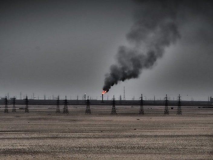 Oil fields Kuwait