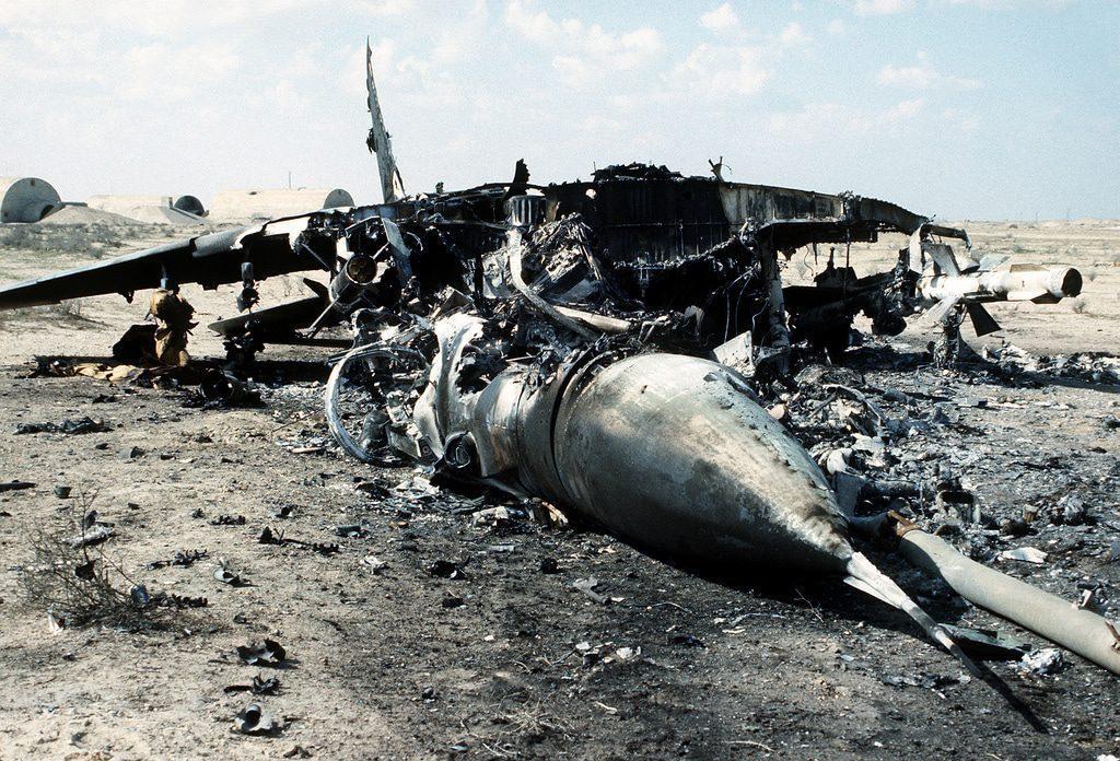عملية عاصفة الصحراء الاحتلال الكويت صدام حسين