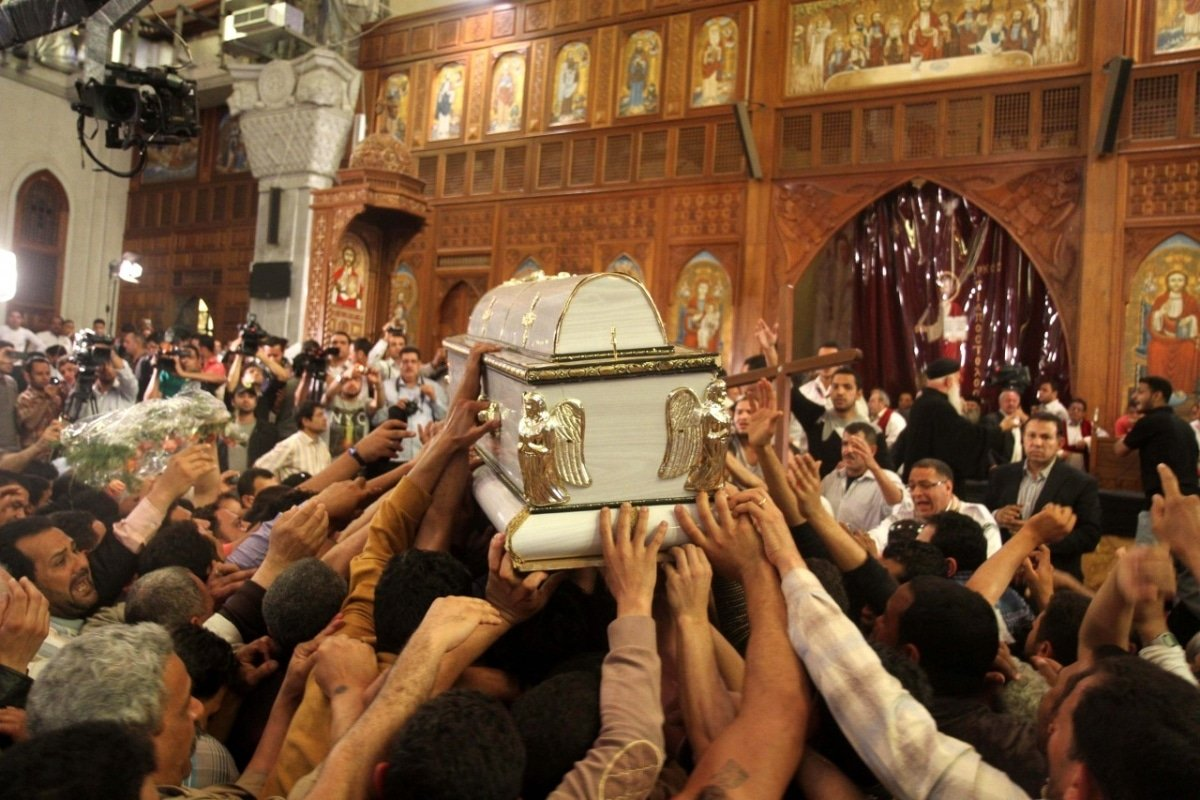Under Mubarak and Morsi's rule members of the Copt Christian community in Egypt have felt to be discriminated and oppressed. With the rise in power of al-Sisi the Egyptian Copt community feels safer.