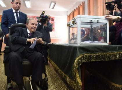 Algeria's Ruling FLN Calls on Bouteflika to Run for a Fifth Term