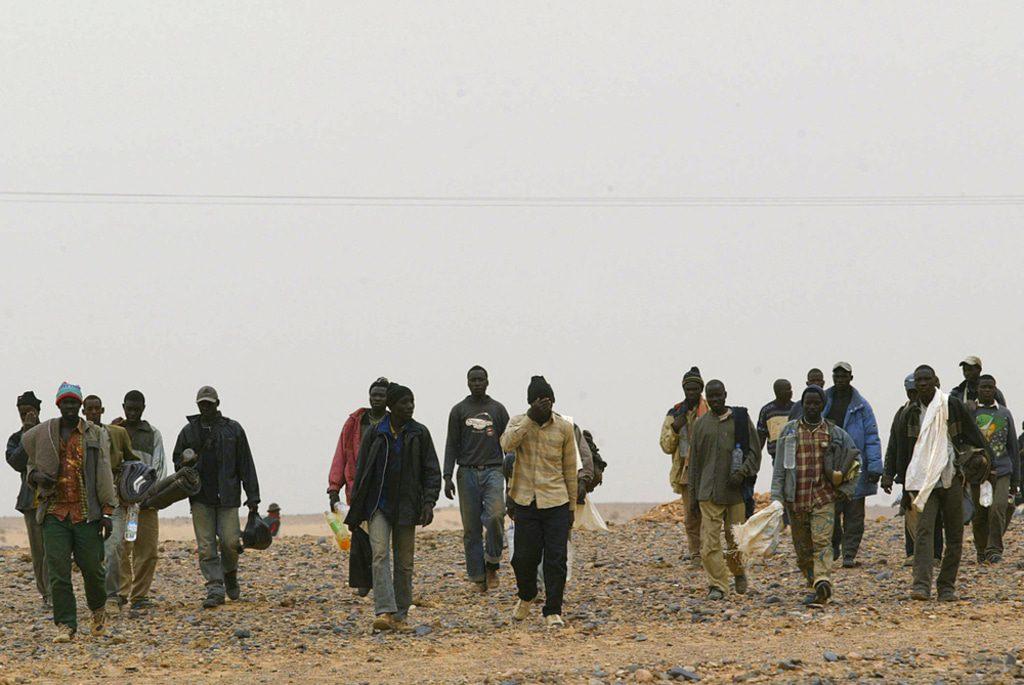 Algeria- African migrants