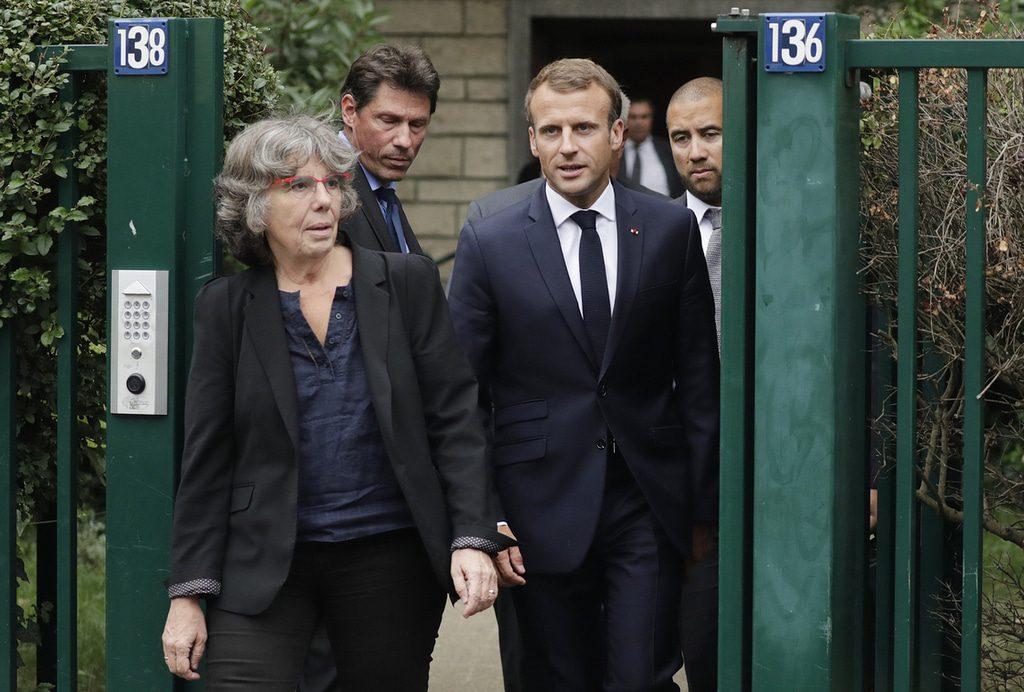 Algeria- Emmanuel Macron