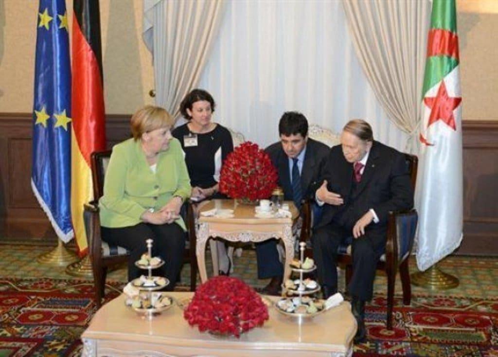 Algeria- Merkel