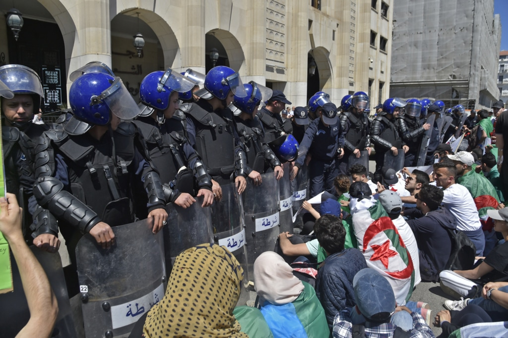 Algeria- demonstration algeria