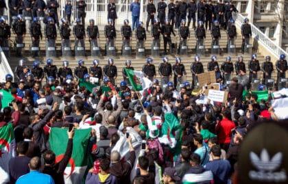 Algerian Protests Demanding Regime Change