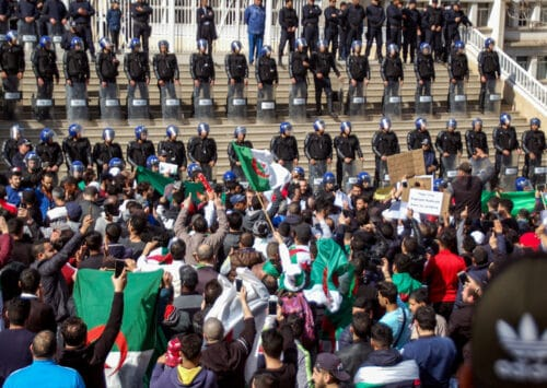 Algerians Demand Regime Change