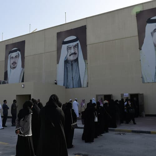 In Bahrain, Money Talks
