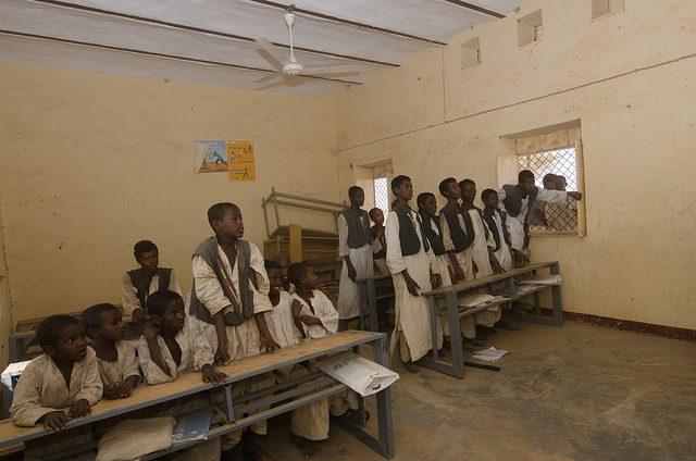السكان السودان الطلاب