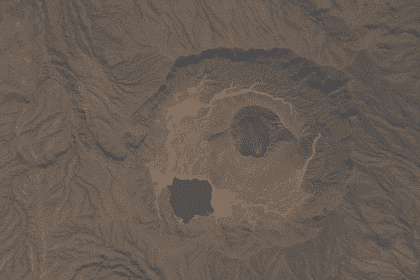 Sudan geography Deriba Caldera