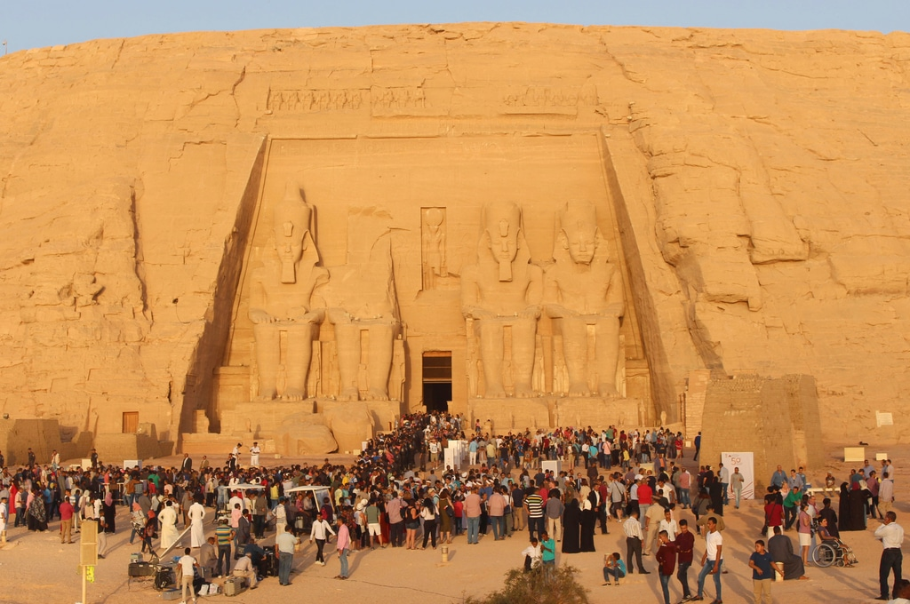 Egypt - temple of Abu Simbel