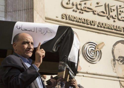 تسارع آلة الدعاية المصرية