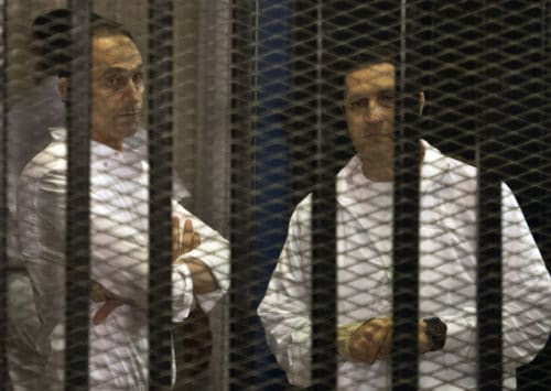 Surprise Arrests a 'Message' for Mubarak's Sons to Back Off